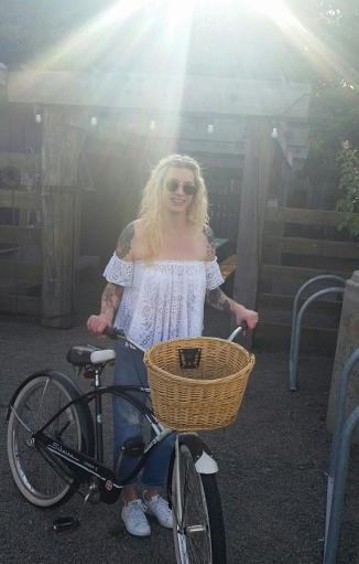 Me and my bike.
